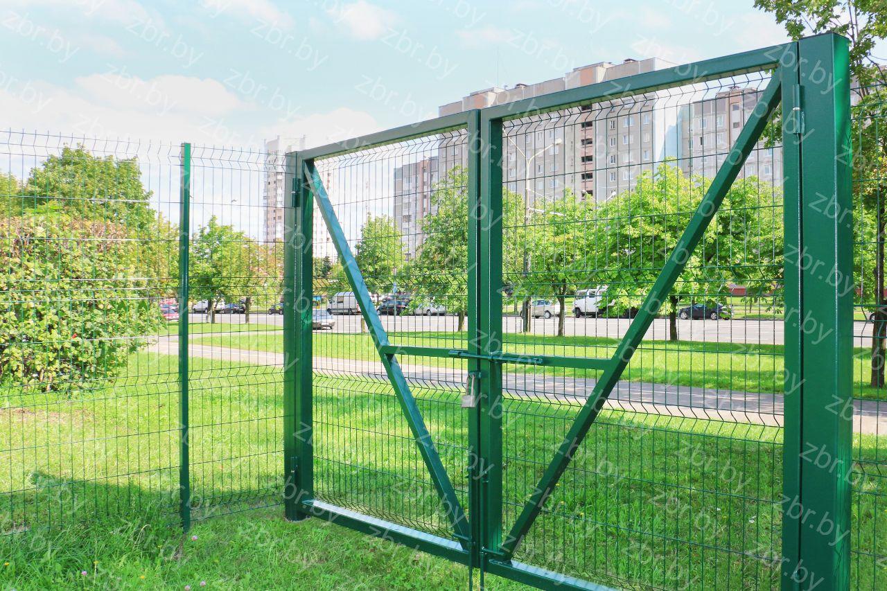 распашные ворота для дачи купить