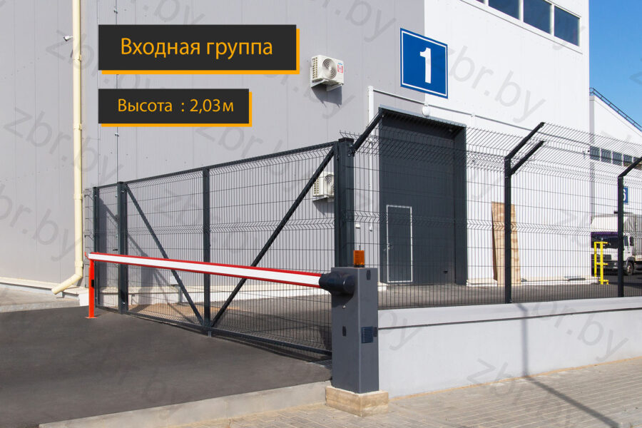 ворота для въезда в гараж