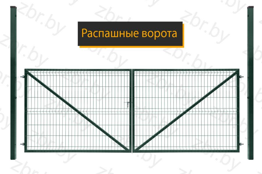 ворота забор для дачи