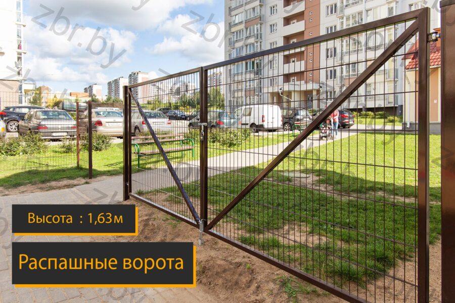 ворота в забор