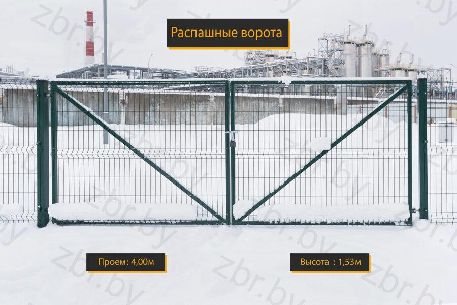 ворота под забор
